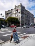 Bâtiments victoriens historiques, port Townsend, Washington, Etats-Unis Images stock