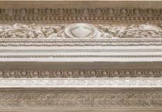 Bâtis décoratifs blancs de plâtre Image libre de droits