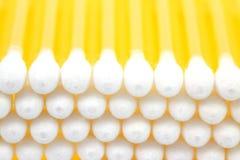 Bâton 2 de coton photos stock