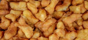 Bâton cuit en friteuse de la pâte Photographie stock libre de droits