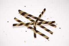 Bâton de gaufrette Photo libre de droits
