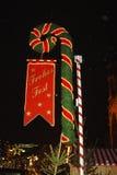 Bâton de Joyeux Noël Image stock