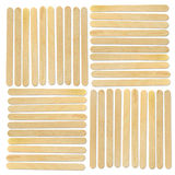 Bâton en bois de glace photographie stock