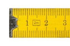 Bâton se pliant de mètre Image libre de droits