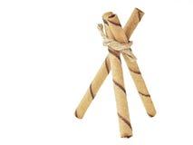 Bâton triangulaire de gaufrette image stock