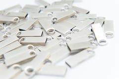 Bâtons argentés d'USB Photo stock