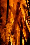 Bâtons brûlants Photos stock