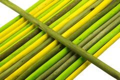 Bâtons colorés. Image stock