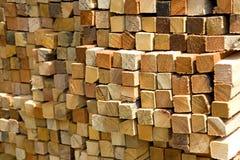 Bâtons colorés de coupure Image libre de droits