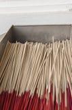Bâtons d'encens Images stock