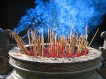 Bâtons d'encens Photo libre de droits