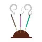 Bâtons d'encens d'Aromatherapy Images libres de droits
