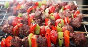 Bâtons de BBQ Image stock