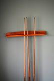 Bâtons de billard Photo libre de droits