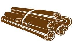 Bâtons de cannelle illustration de vecteur