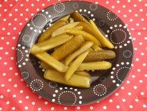Bâtons de concombre Images stock