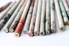 Bâtons de crayon Photographie stock