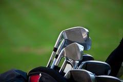 Bâtons de golf Images libres de droits
