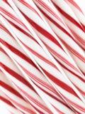 bâtons de menthe poivrée Photo stock