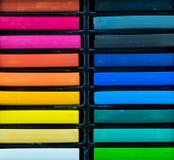 Bâtons de pastel d'huile Image stock