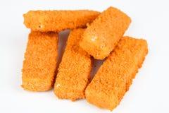 Bâtons de poisson surgelés Image libre de droits