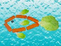 bâtons de poissons images libres de droits
