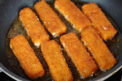 Bâtons de poissons Image libre de droits
