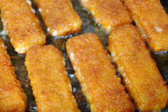 Bâtons de poissons Image stock