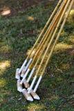 Bâtons de polo photographie stock libre de droits