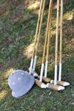 Bâtons de polo image libre de droits