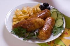Bâtons de poulet Photographie stock