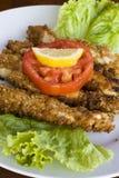 Bâtons de poulet frit Photo libre de droits