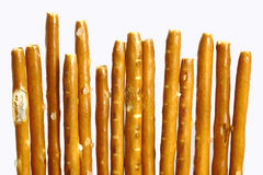 Bâtons de pretzel Images stock