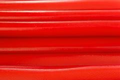 Bâtons de sucrerie assaisonnés par fraise Photo stock