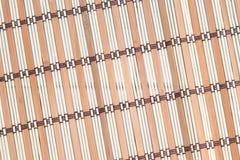 Bâtons en bambou de fond avec l'union de fil Photo stock