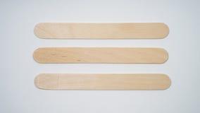 Bâtons en bois Photographie stock