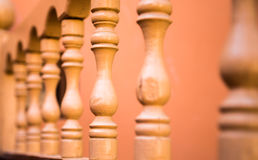 Bâtons en bois de tapchan Photographie stock