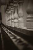 Bâtons en bois de tapchan Image libre de droits