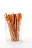 bâtons en verre de sel Photo stock