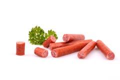 Bâtons fumés de saucisse Image stock
