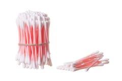 Bâtons hygiéniques de coton image stock