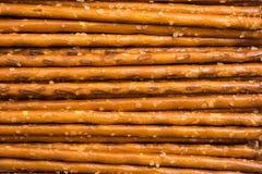 Bâtons salés de casse-croûte Photo stock