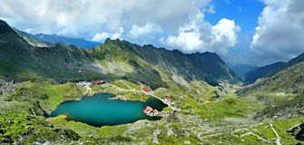 Bâlea sjö arkivbilder