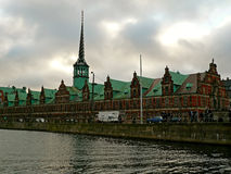 Børsen (The Old Stock Exchange) Stock Photo