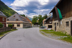 Böckstein, Salisburgo Austria - 9 giugno 2017: Vecchia estrazione dell'oro MU Fotografie Stock