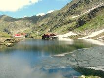 Bâlea sjö Royaltyfri Foto