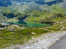 Bâlea sjö Royaltyfri Fotografi