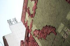 Böttcher aleja z sztuka budynkiem w Bremen Zdjęcia Royalty Free