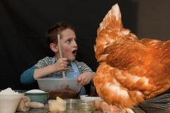 Bäcker-Junge stockbilder
