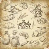 Bäckerei-Brot Stockbild